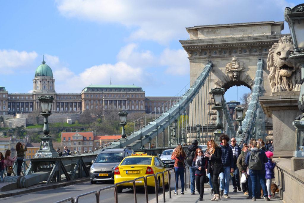 Cosa vedere a Budapest in un weekend - ponte delle catene