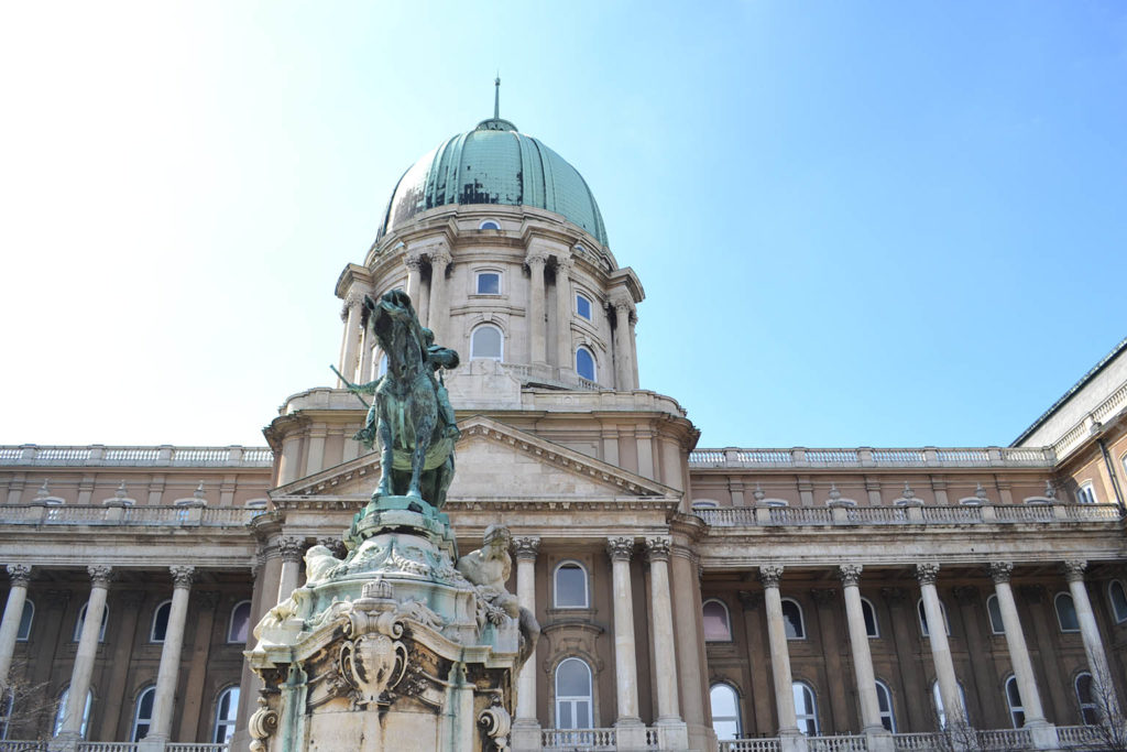 Cosa vedere a Budapest in un weekend - palazzo reale
