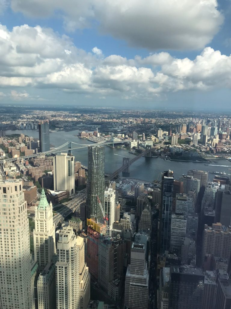 New York Downtown- One World Observatory