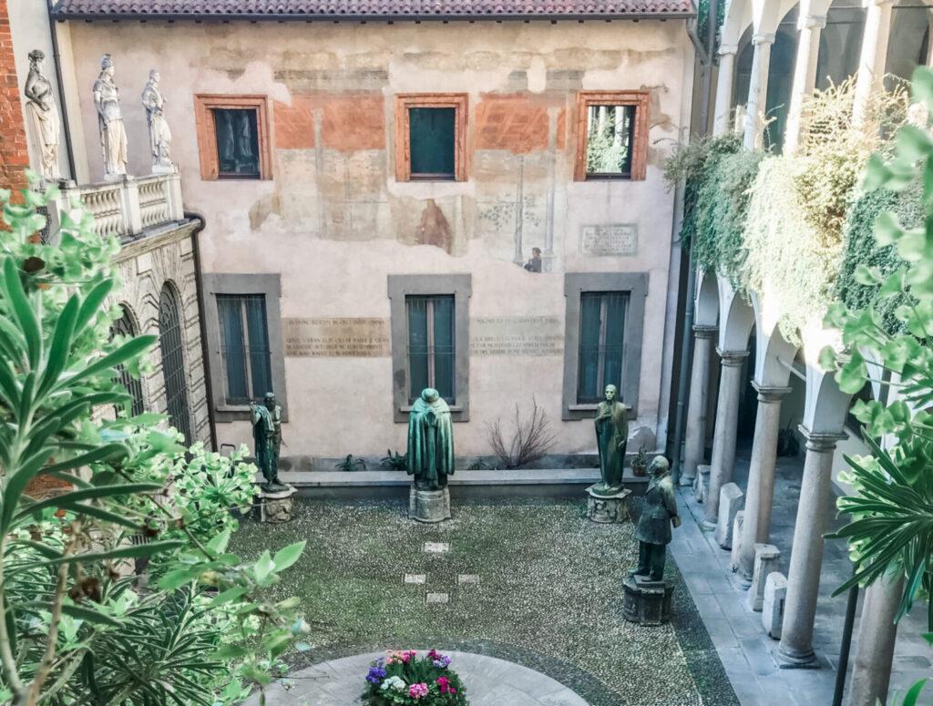 Nel centro di Milano
