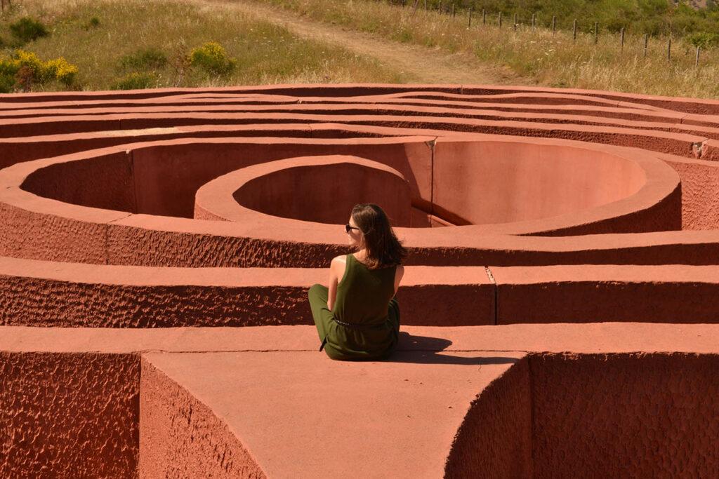 labirinto di arianna fiumara d'arte