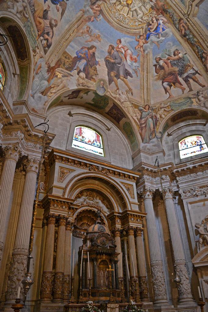 Cattedrale di Ortigia cappella SS Sacramento