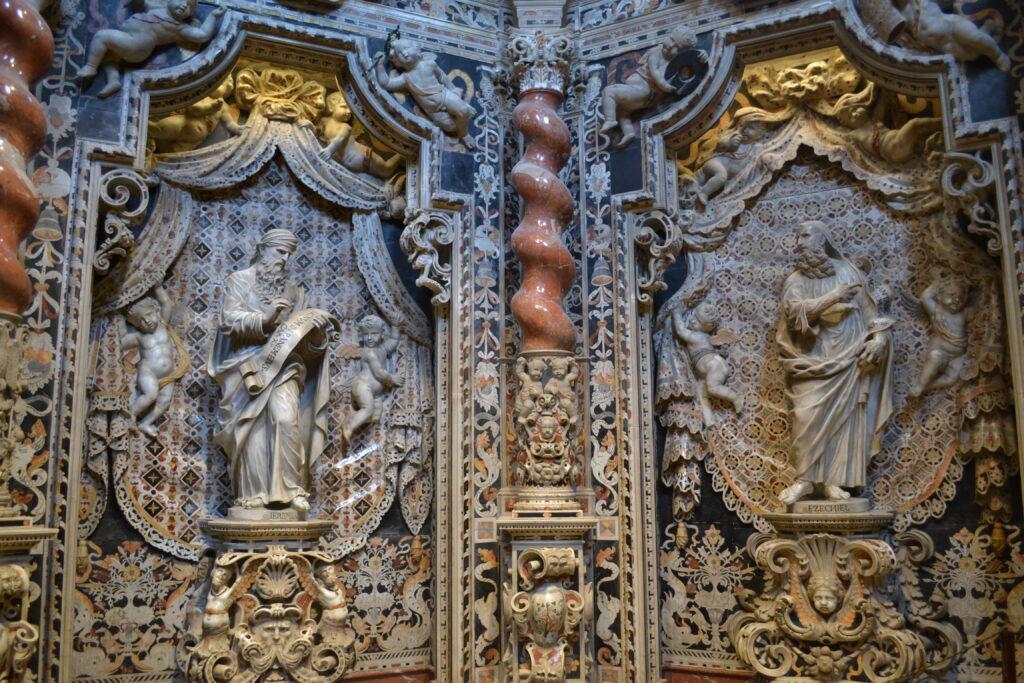 cappella roano Cattedrale di Monreale