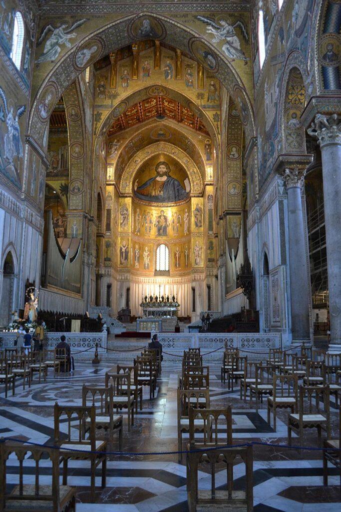 navata centrale di Monreale