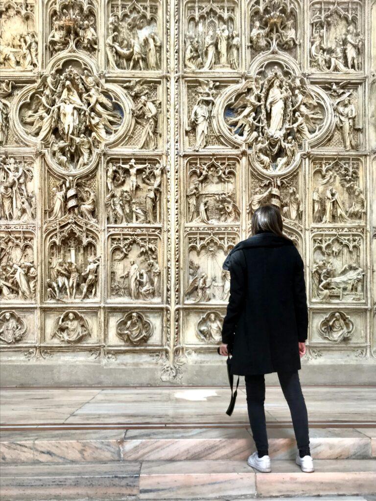 Porta del Duomo