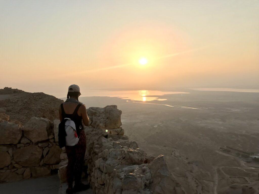 Alba a Masada