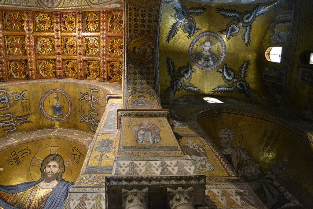mosaici bizantini duomo di monreale
