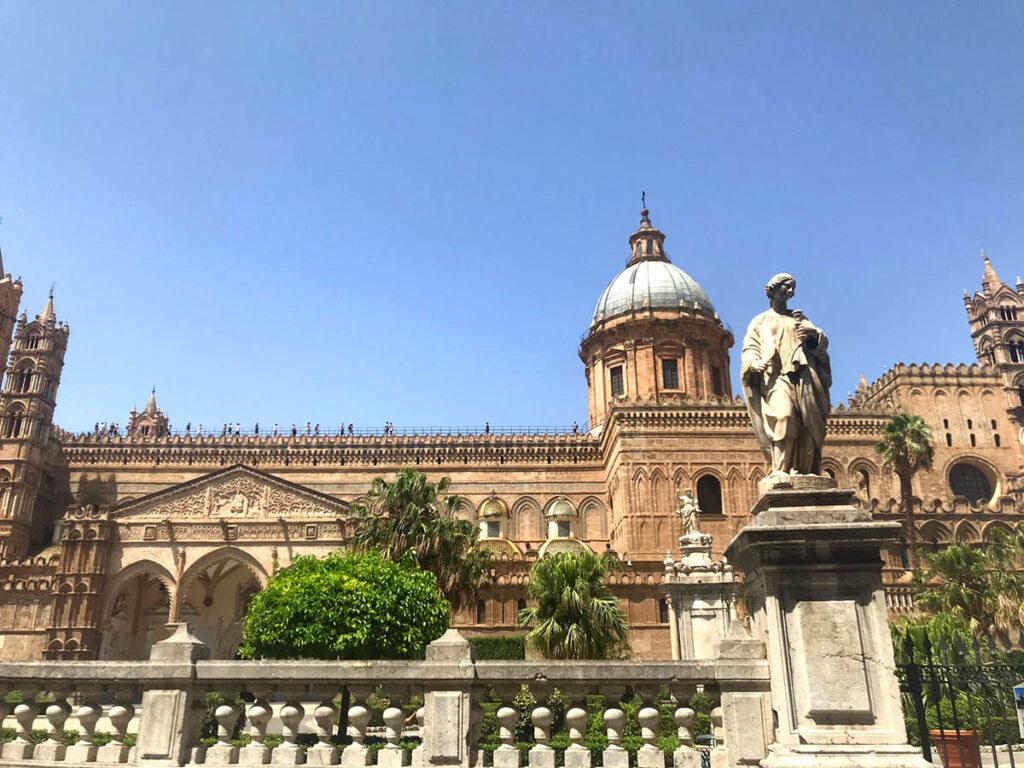 Cattedrale di palermo tra i siti UNESCO in sicilia
