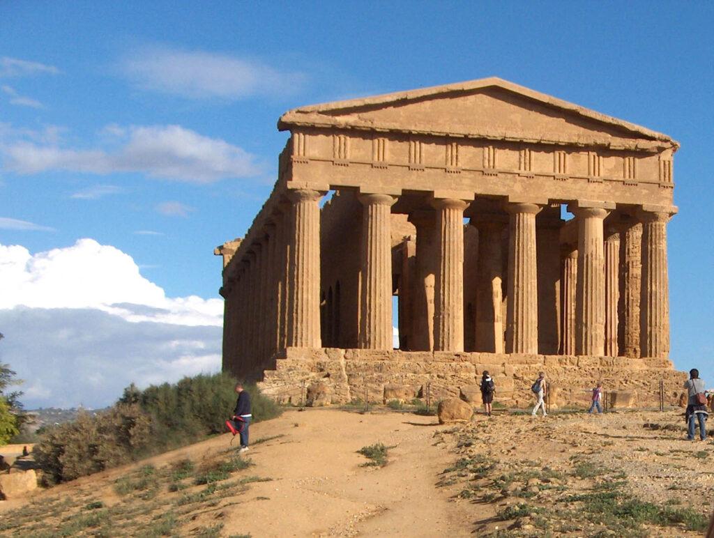 la valle dei templi è uno dei siti UNESCO in sicilia