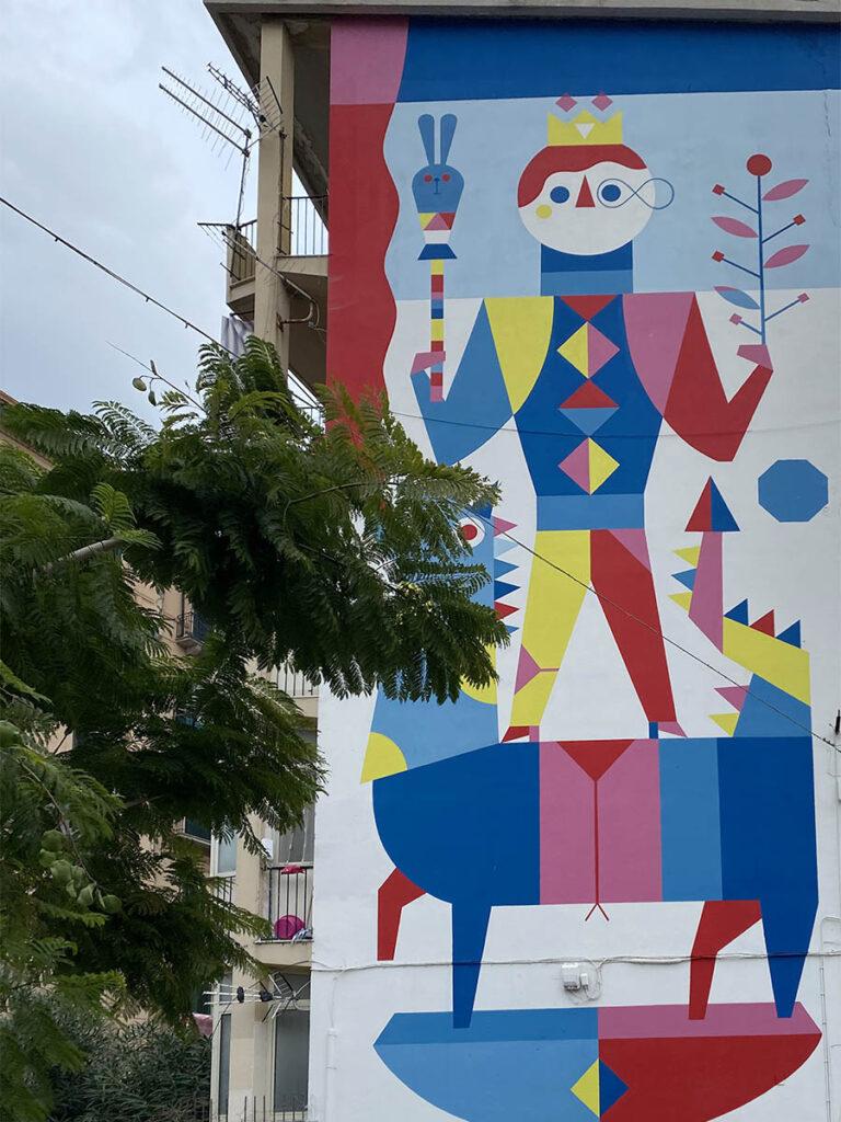 cosa vedere a palermo, street art kalsa