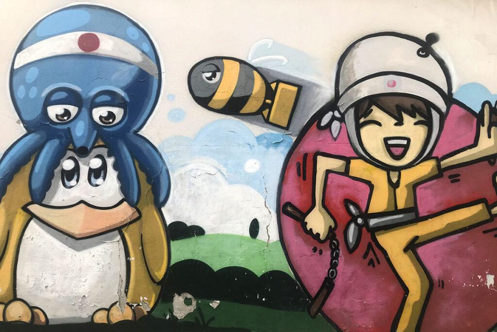 street art tour milano via marco aurelio