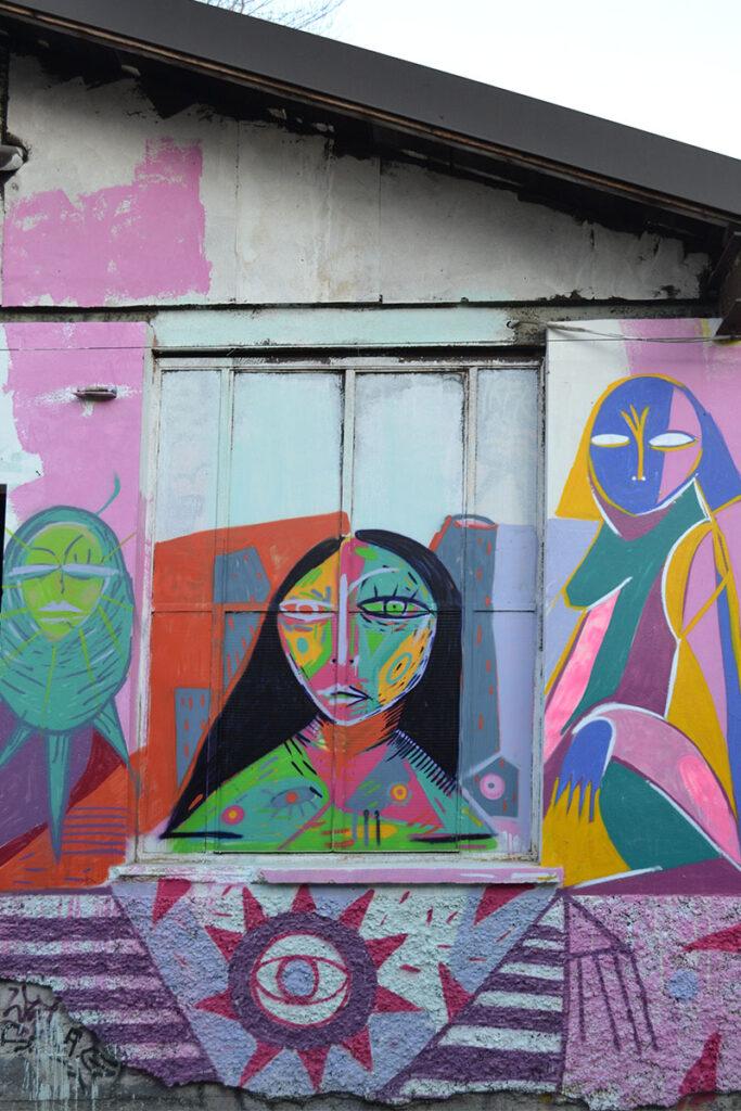 arte urbana leoncavallo milano