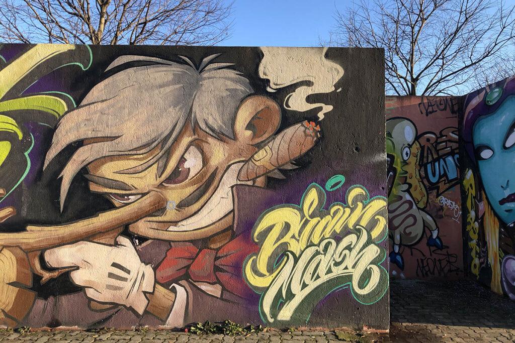 street art naviglio martesana milano