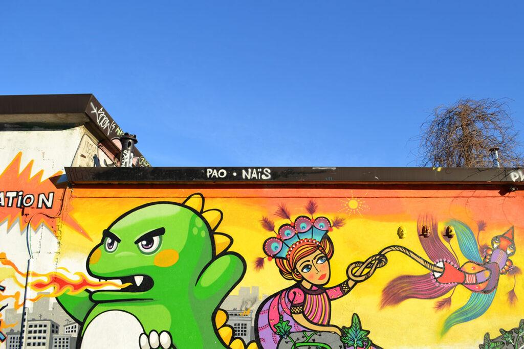 street art pao milano