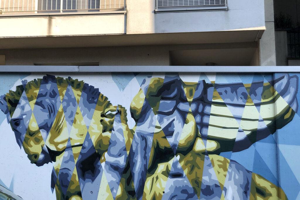 via gluck street art tour milano