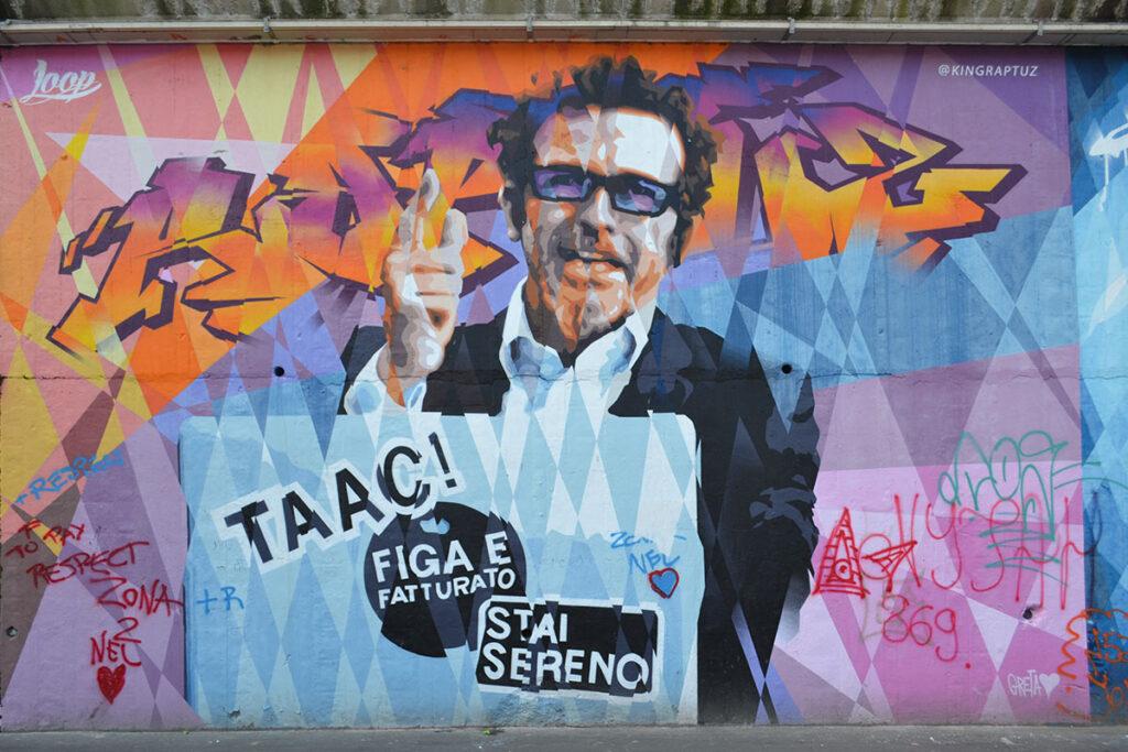 street art a milano via pontano
