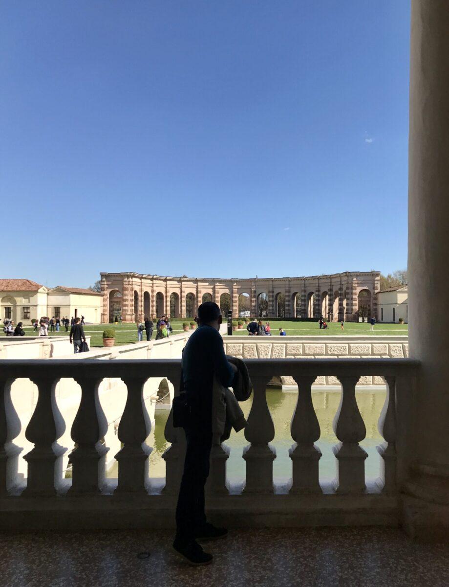 Esedra di Palazzo Te