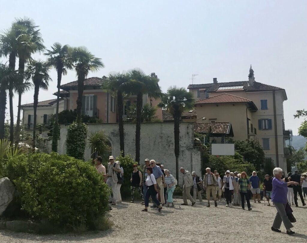 Piazzetta sull'isola dei Pescatori