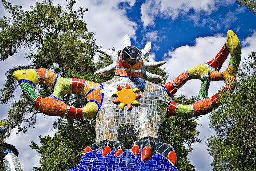 arte all'aperto giardino dei tarocchi