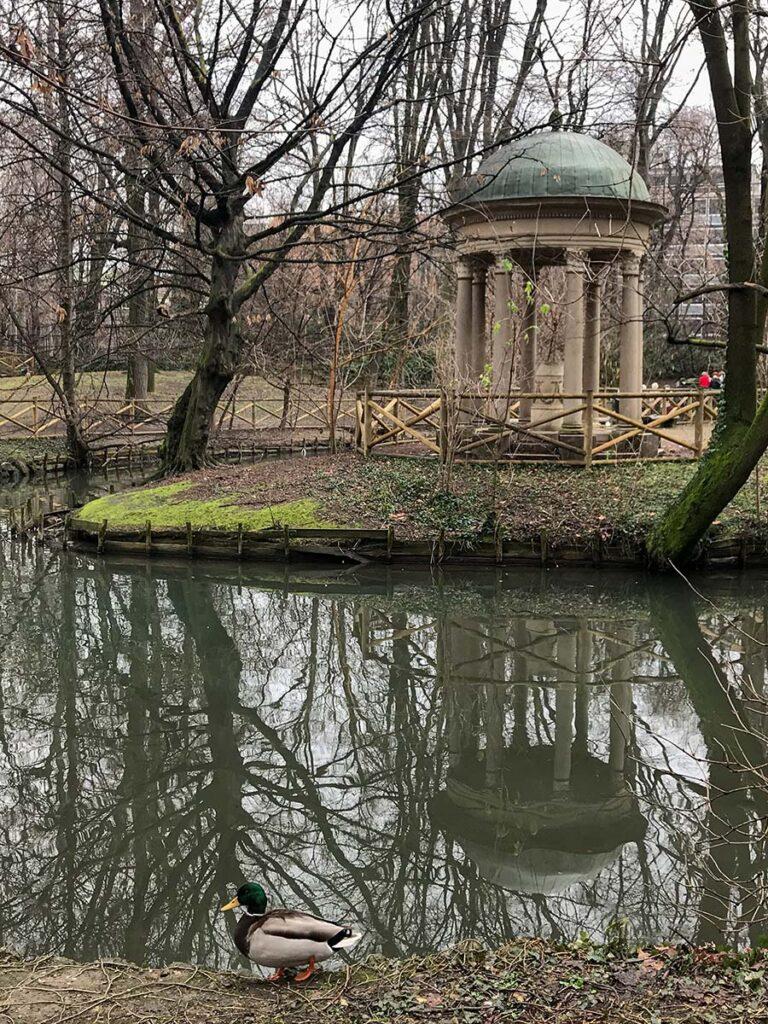 giardino di villa belgiojoso